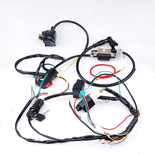 CISNO Complete Electrics CDI Coil Wiring Loom Harness