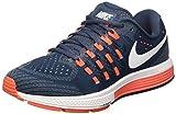 NIKE Men's Air Zoom Vomero 11 Running Shoes (9.5 D(M) US, Squadron Blue/Blue Grey/Total Crimson/White)