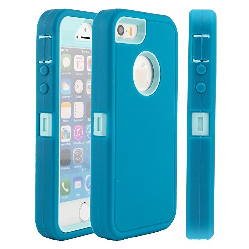 iphone 5 case protective blue - 7