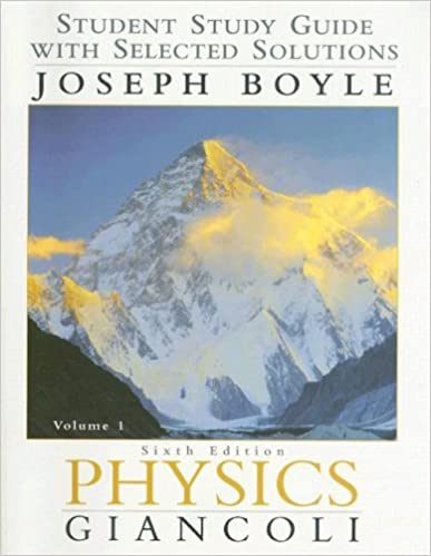 Amazon physics student study guide with selected solutions vol physics student study guide with selected solutions vol 1 6th edition 6th edition fandeluxe Choice Image