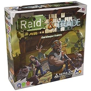 Ninja Division Raid & Trade Board Game