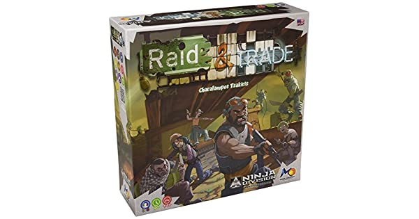 Amazon.com: Raid & Trade – Juego de mesa: Toys & Games