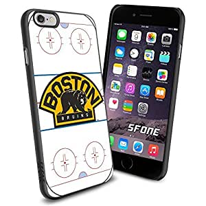 Boston Bruins Rink Ice #2082 Hockey iPhone 5C Case Protection Scratch Proof Soft Case Cover Protector