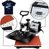 "Super Deal PRO 12"" X 9"" Digital Swing Away Heat Press Clamshell Transfer Sublimation Machine"