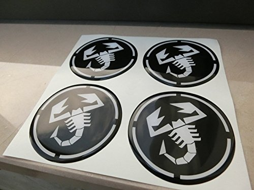 55/mm schwarz Tuning Effekt 3d 3/m geharzt Radkappen Nieten Caps Aufkleber Stickers f/ür Alufelgen X 4/St/ück