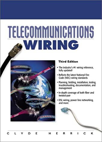 telecommunications wiring 3rd edition clyde n herrick rh amazon com Electrical Books Animated Books