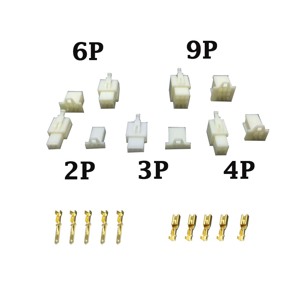 10 Sets/Kits 3 Pin/way DJ7031A-2.8 Electrical Wire Connectors Plug Male and female Automobile Connector CNLW