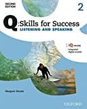 img - for Q: Skills for Success Listening and Speaking, Level 2 (Q Skills for Success, Level 2) book / textbook / text book