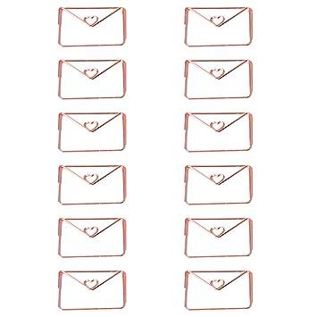 Büroklammern Paperclips 6 Stück