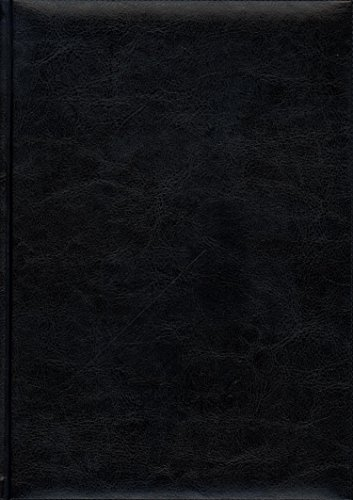 Pierre Belvedere Firenze Large Notebook, Padded Cover, Black (978460)