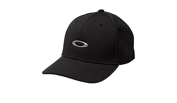 Oakley Silicon 2.0 Gorra, Hombre, Silicon Cap 2.0, Negro, Large ...