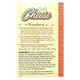 Health Wise Cheese Dip/Soup Healthy Nutritious Diet