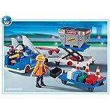 Playmobil - 4315 - L'Aéroport -  Agents + Porte-containers + Escalier
