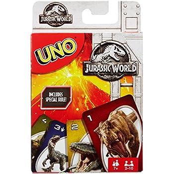 Amazon Jurassic World Uno Attack Game Toys Games