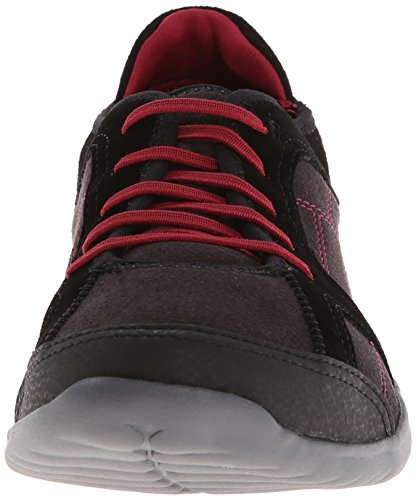Rubber Walking Clarks Red Women's Jade Arbor Black vUZxxtwOzn