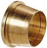 Eaton Weatherhead 601X5 Brass CA360 SelfAlign Tube Fitting, Sleeve, 5/16'' Tube OD (Pack of 10)