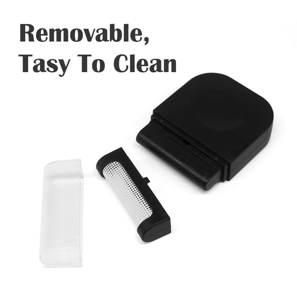 Alintor Fusselbürste für Textilien Anti-Fussel, Kleiderbürste Leicht und Textil-schonend (Schwarz)