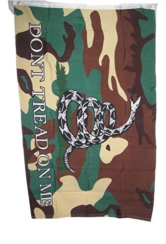 Confederate Flag Battle Rebel - Gadsden Dont Tread on Me Camo Rebel Flag 3x5 3 X 5 Feet New