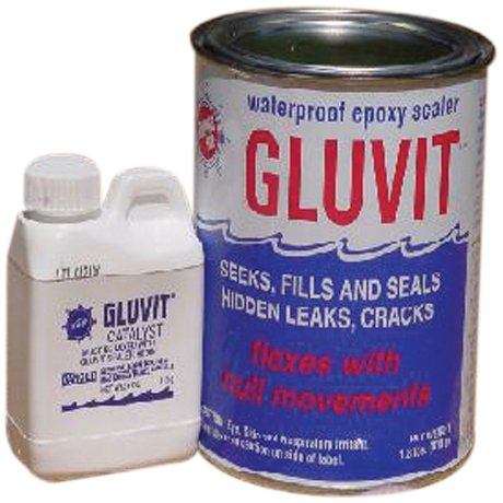 (Marine-Tex RM330K Gluvit Waterproof Epoxy Sealer - 2 lbs.)
