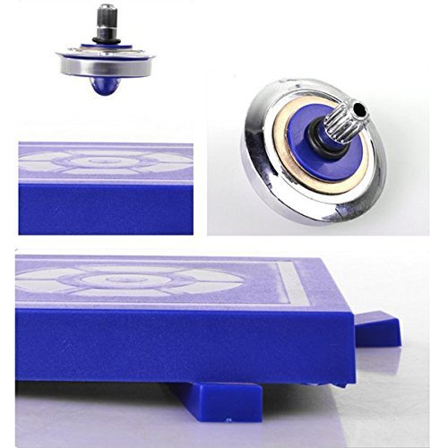 aFirst UFO Magnetic Levitation Spinning Gyroscope Suspension Science Toys