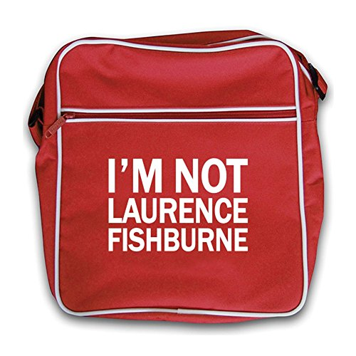 Fishburne I'm Red Not Retro Fishburne Retro Laurence Laurence Flight Bag Red I'm Not twq61I