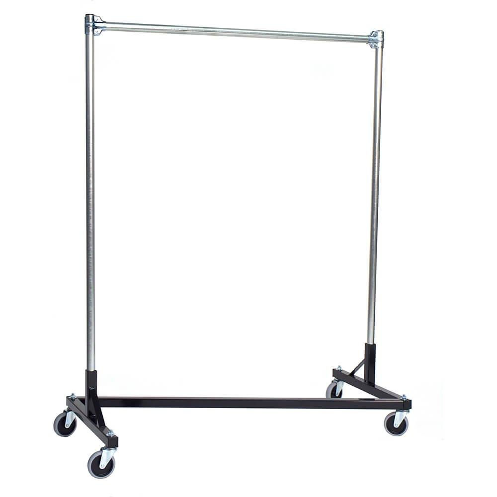 Capacity 4 Foot Long Z Rolling Rack Health Personal Care