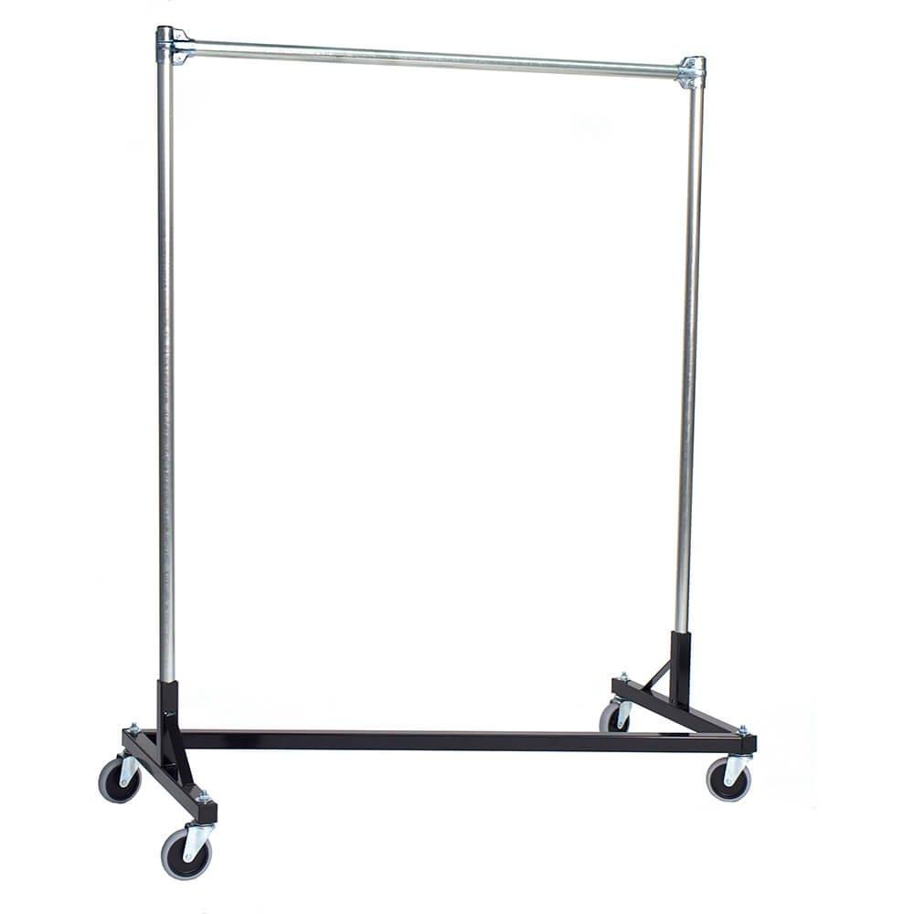 Heavy Duty Steel 500 lb. Capacity 4-Foot Long Z Rolling Rack