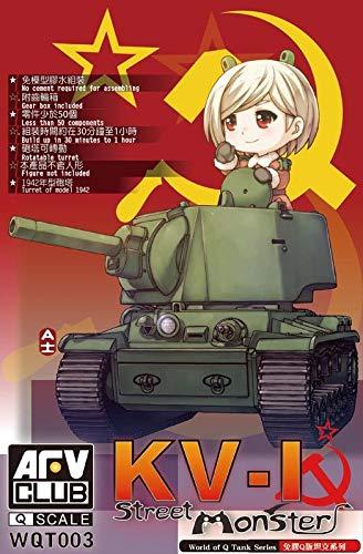 AFV Club WQT003-Model Kit Street Monster Kliment Voroshilov KV-2