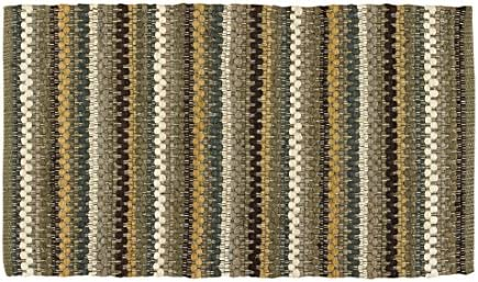 Park Designs Mineral Stripe Rag Rug 24X38, 24 x 38