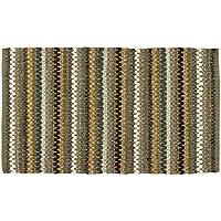 Park Designs 647-25 Mineral Stripe Rag Rug, 24 x 38