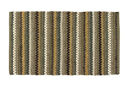 Park Designs Mineral Stripe Rag Rug 24X38, 24