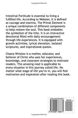 The Primal Element: If Intestinal Fortitude: Chasta Winslow: 9781626768871:  Amazon.com: Books