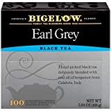 Bigelow Earl Grey Black Tea Bags, 100 Count Box Caffeinated Black Tea