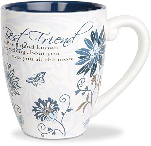 Pavilion Gift 66310 Mark My Words 4-3/4-Inch Best Friend Mug, 20-Ounce (Mugs Best Latte)