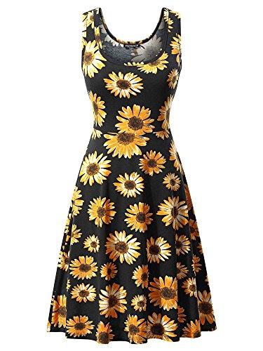 Floral Summer Tank Dress - 9