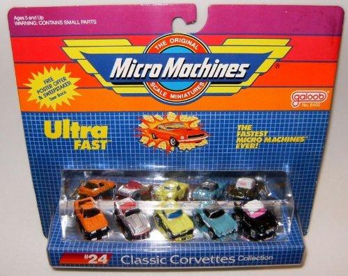 Micro Machines Classic Corvettes #24 Collection - Corvette 24 Scale Coupe
