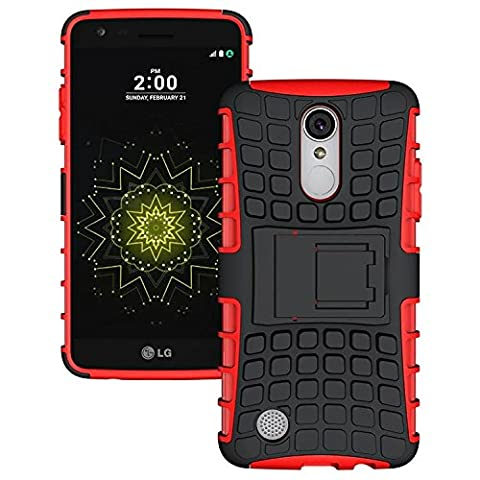 LG LV3 Case, LG Aristo Case, LG V3 Case,NOMO(TM) Shock Absorption Hybrid Dual Layer Armor Defender Protective Case Cover with Kickstand for LG LV3/Aristo/V3/MS210 - (V3 Watch Phone)