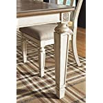 Signature Design by Ashley Realyn Dining Room Extension Table, Chipped White