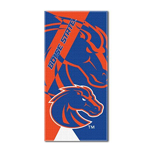 The Northwest Company Officially Licensed NCAA Boise State Broncos Puzzle Beach Towel, 34