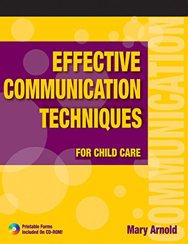 communication and child care If you and your youngster have ongoing problems with communication, ask your pediatrician for some guidance he or she may suggest having your child.