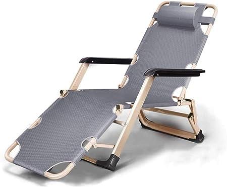 YYZZ Chaise Longue Pliante Fauteuils inclinables Plage