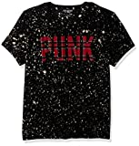 Search : GUESS Men's Punk Paint T-Shirt