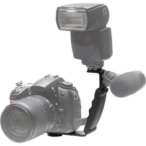 Phot-R L Forma Profesional Flash Bracket para Flashguns: Amazon ...