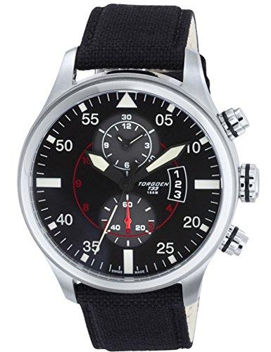 Torgoen Swiss Men's T33403 Pilot Watch