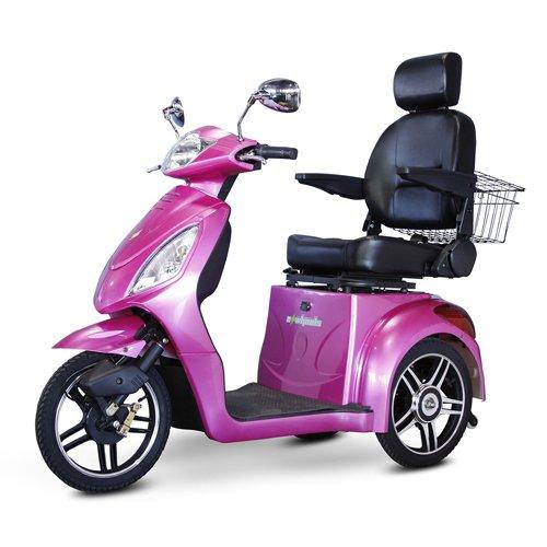EWheels-EW-36-3-Wheel-Mobility-Scooter-Magenta-BMC-EWH-EW-36M