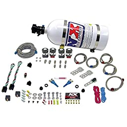 Nitrous Express 20324-15 50-150 HP x 2 EFI Dual Stage with 15 lbs. Bottle Dodge