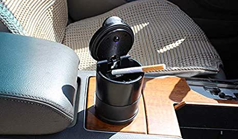 Small Portable Cup Holder Ashtray THOUSAND Paper Cranes Car Ashtray Fireproof Smoke-Free Fits for Most Car Holder Cup