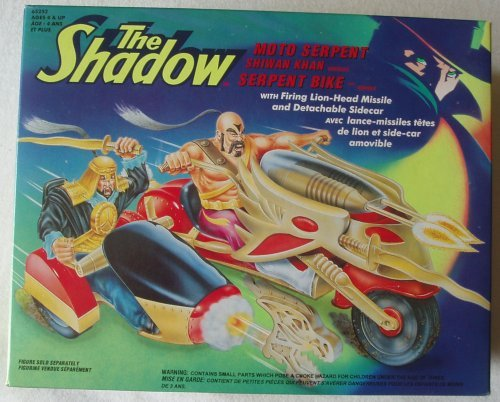 (The Shadow Shiwan Khan Serpent Bike Vehicle by Kenner by Kenner)