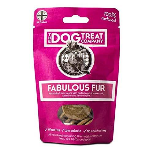 6X Dog Treat Company Fabulous Fur Wheat Free Treat Pouch, Skin & Coat Care 40g