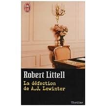 DÉFECTION DE A.J. LEWINTER (LA)